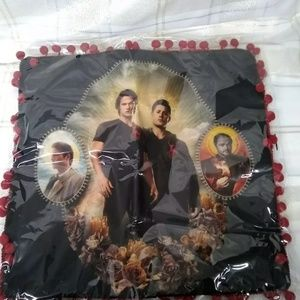 Supernatural Small throw pillow cover
